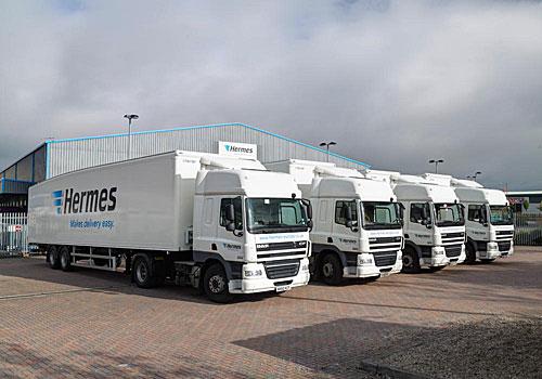 Hermes showcasing new Mainz logistics centre