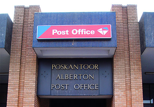 South African postal strike