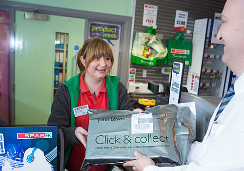 John Lewis to charge for Click and Collect deliveries under £30
