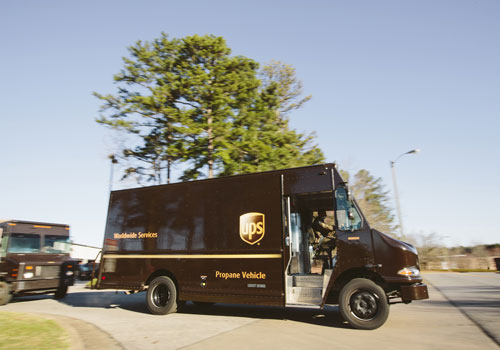 UPS places $70m order for propane vehicles and fuel systems