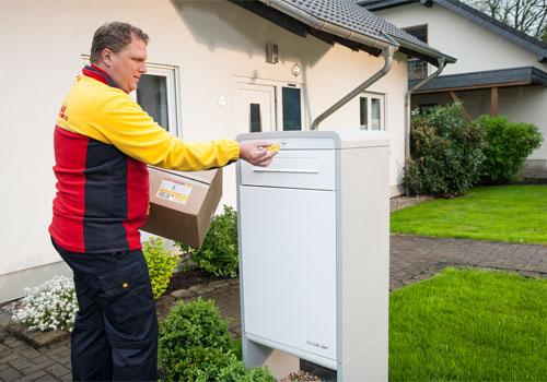 "DHL hails household parcel boxes ""greatest development"" since mailbox"