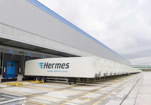 Hermes opens new Warrington distribution centre