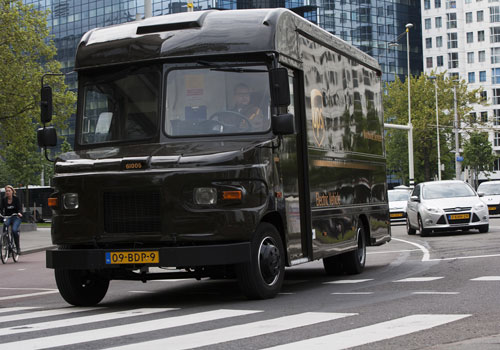 UPS deploys four all-electric delivery vehicles in Rotterdam