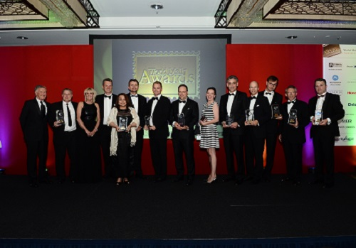 Winners of the 2014 World Mail Awards revealed at the Gala Dinner and Presentation Ceremony, Hilton Hotel, Berlin