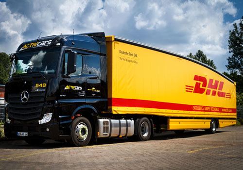 Deutsche Post DHL introduces Teardrop trailers into mainland Europe