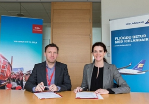 Iceland Post partner with Icelandair