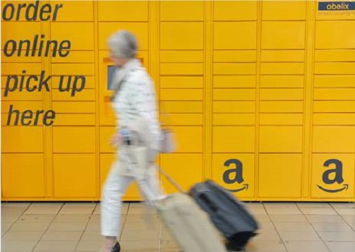 Birmingham becomes first UK airport to install Amazon Lockers