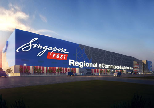 SingPost partner with Siemens to kit out a major e-commerce logistics facility