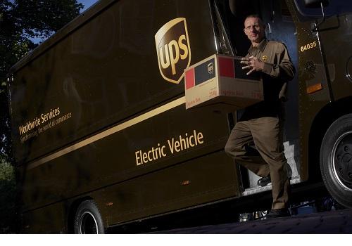 UPS sustainability efforts recognised