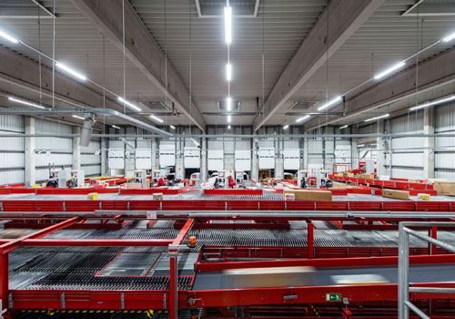 DPD Germany cuts energy use with LED lighting
