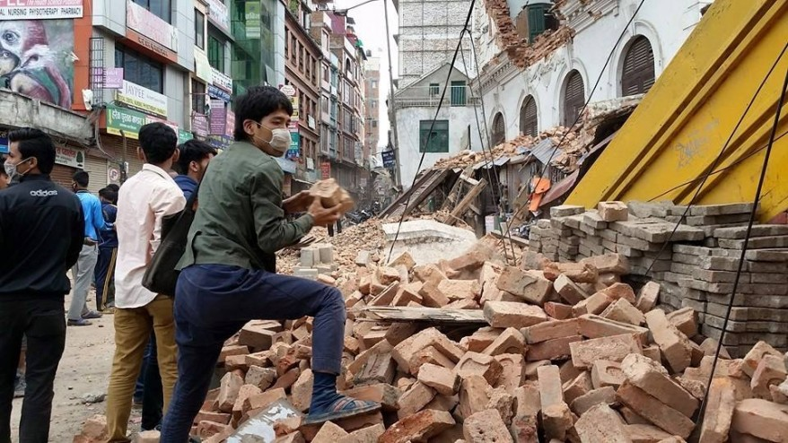 Deutsche Post DHL providing logistics support for Nepal earthquake relief programme