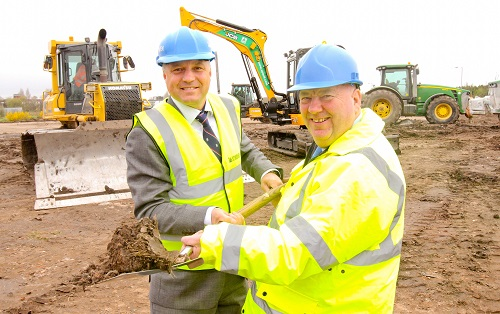 Work begins on DPD's new Liverpool depot