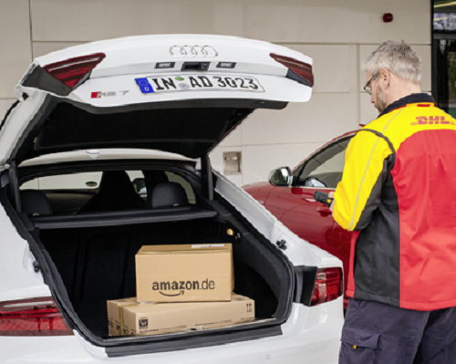 DHL Parcel, Amazon and Audi launch pilot project for car drop delivery