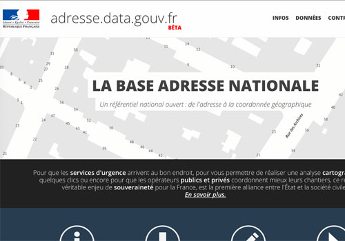 France launches free-of-charge national address database