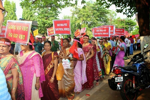 "Indian postal unions plan ""indefinite"" national strike"