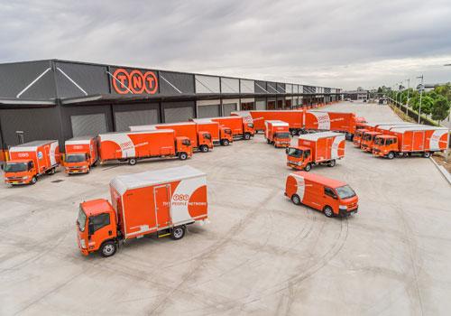"TNT opens ""super hub"" in Sydney"