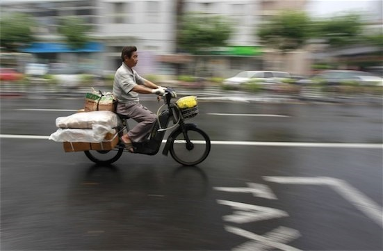 "China's express delivery market is ""booming"""