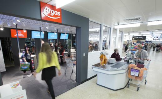 Argos digital stores open in Sainsbury's