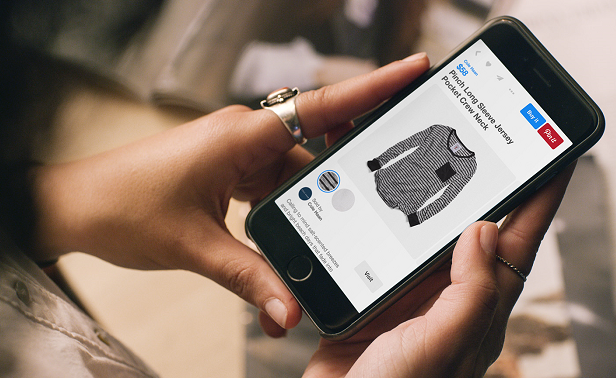 "Pinterest launches ""Buyable Pins"""