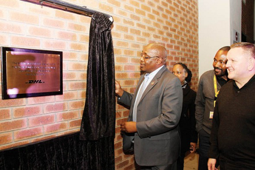 DHL unveils upgraded Botswana facility