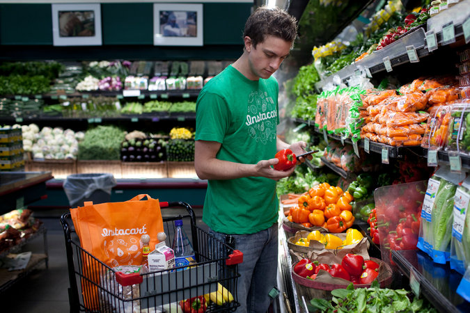 Instacart and Wegmans team up on grocery delivery