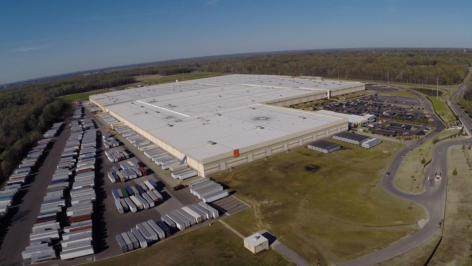 Nike opens its biggest-ever distribution centre in Tennessee