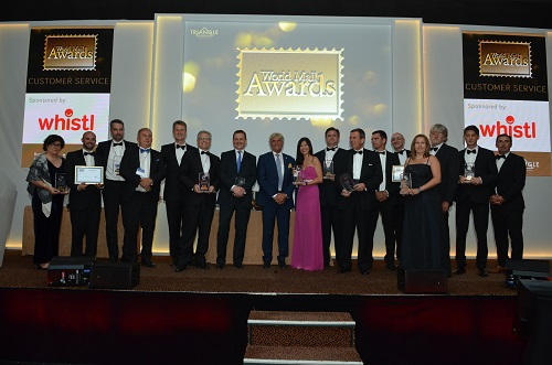 Industry achievements celebrated at World Mail Awards