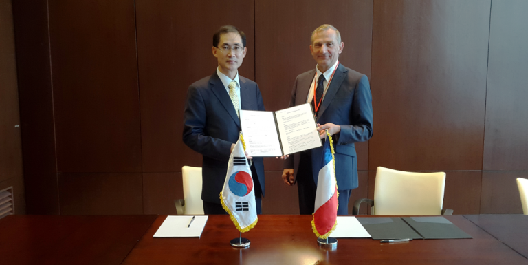 Korea Post and GeoPost sign MoU