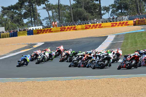DHL announces three-year partnership with MotoGP