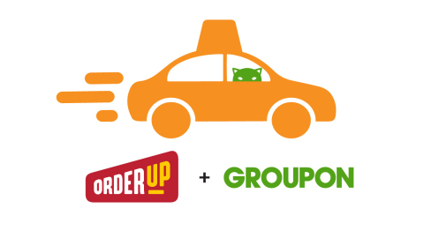 Groupon buys online food delivery company OrderUp