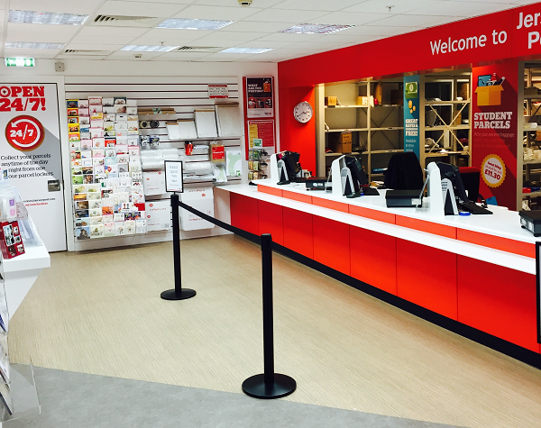 Jersey Post re-opens Rue Des Pres Post Office
