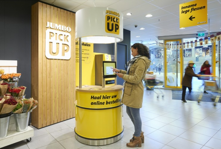 Netherlands grocer opens 100th Pick Up Point