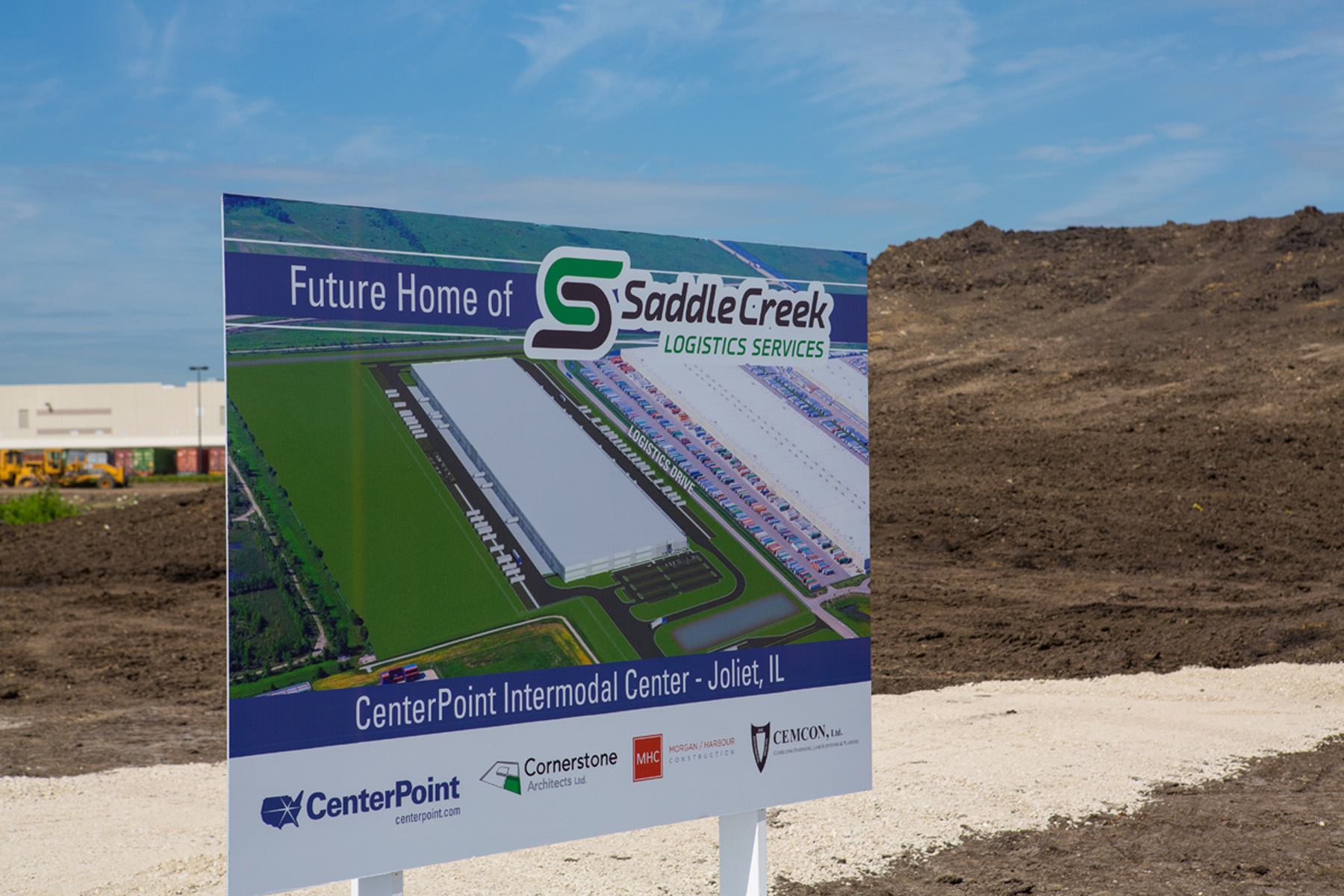 Saddle Creek breaks ground on new distribution centre