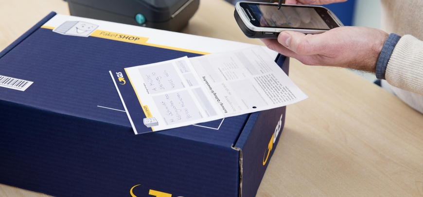 GLS ParcelShops in Germany equipped with Zetes printers and mobile devices