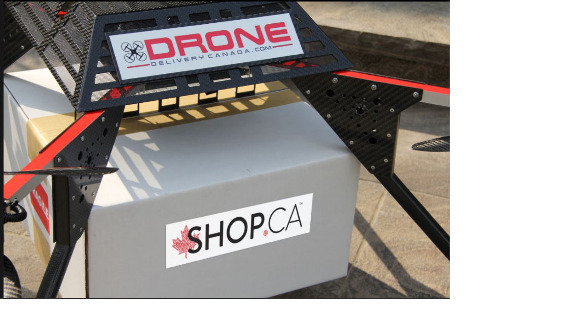 SHOP.CA to run pilot tests with Drone Delivery Canada