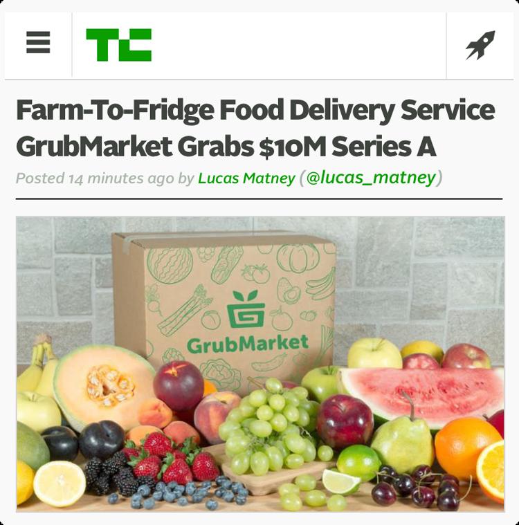 GrubMarket grabs $10m funding