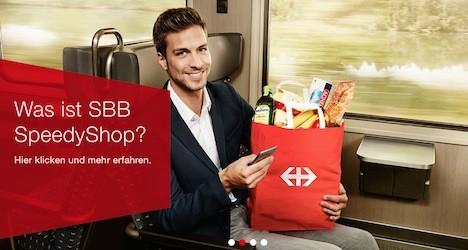 """""""SpeedyShop"""" pilot project begins at Zurich railway station"""