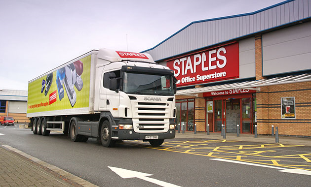 """Paragon helps Staples meet """"back to school"""" delivery rush"""