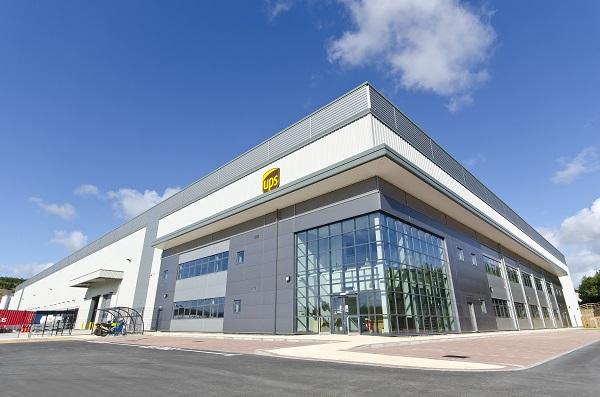 UPS opens new UK contract logistics centre