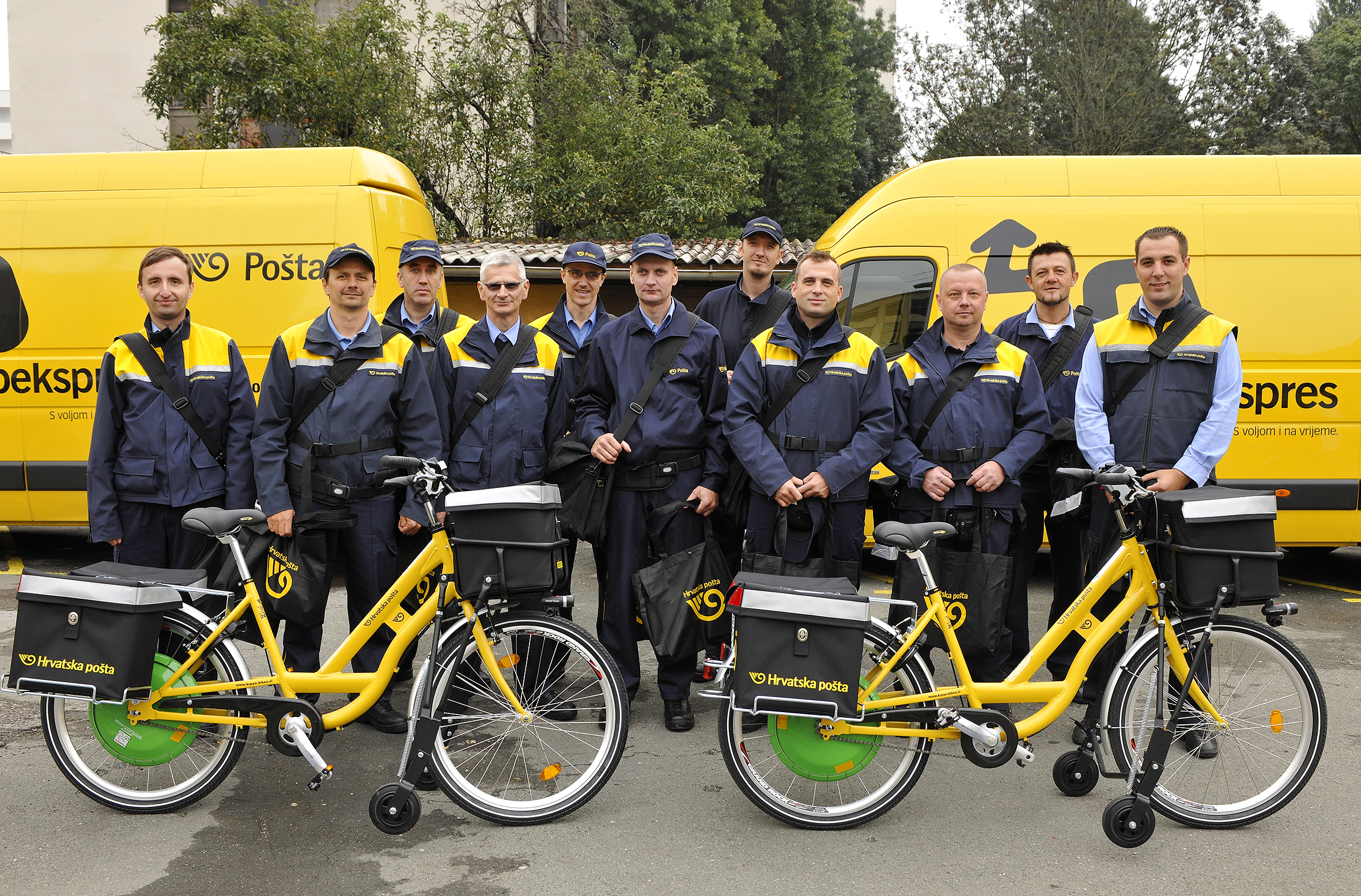 Croatian Post switches to e-bikes to cut costs and emissions