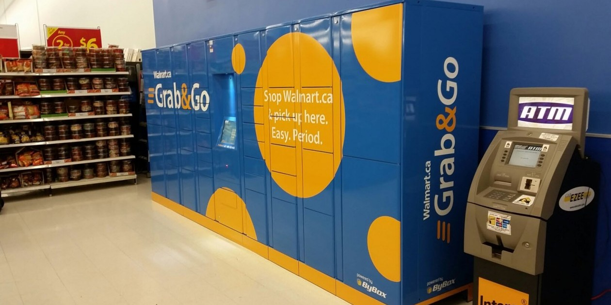 Walmart Canada and 7-Eleven Canada launch Grab & Go locker pilot project