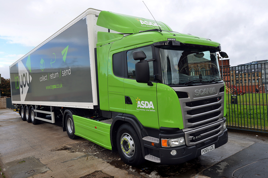 Asda reports continuing growth in online sales