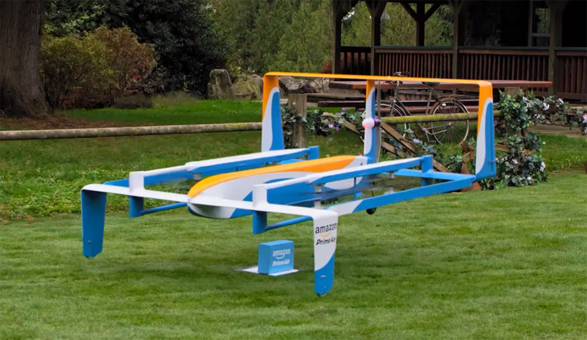 Jeremy Clarkson fronts Amazon advert for Prime Air drone plans