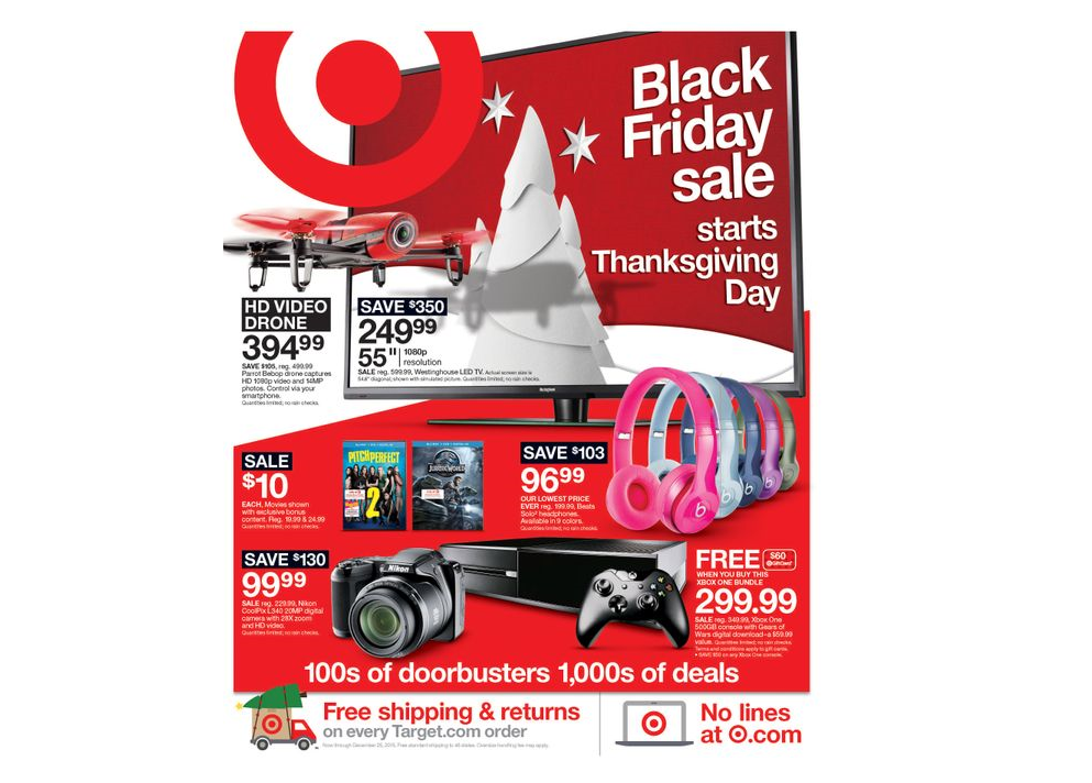 Target unveils Black Friday strategy