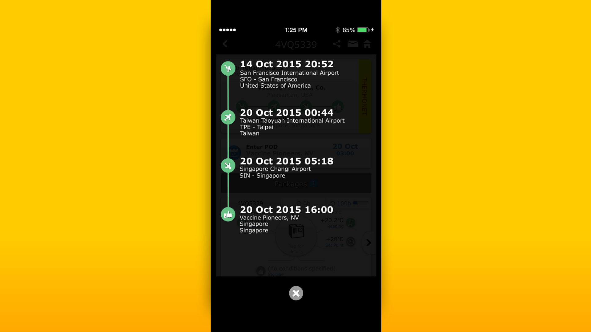 New DHL app increases cold chain visibility