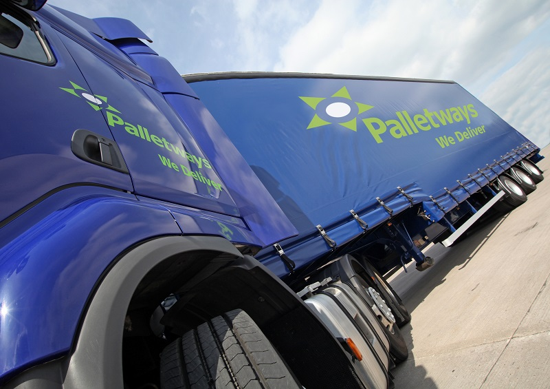 Palletways working with Parcelforce Worldwide