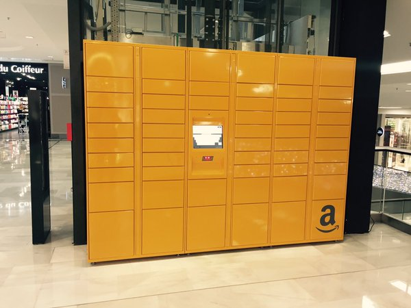 Amazon Germany trialing parcel lockers in Shell petrol stations