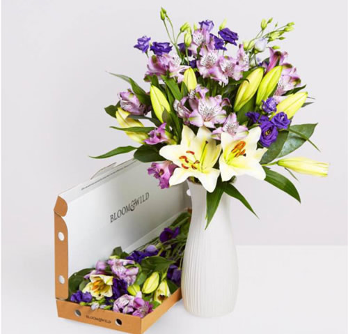 Same day flower deliveries, powered by Shutl