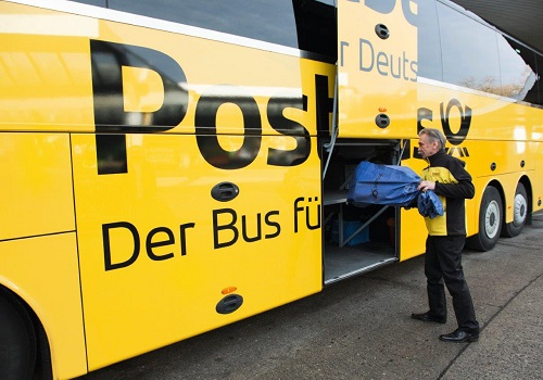 Deutsche Post DHL Group trial same-day delivery via its  bus network