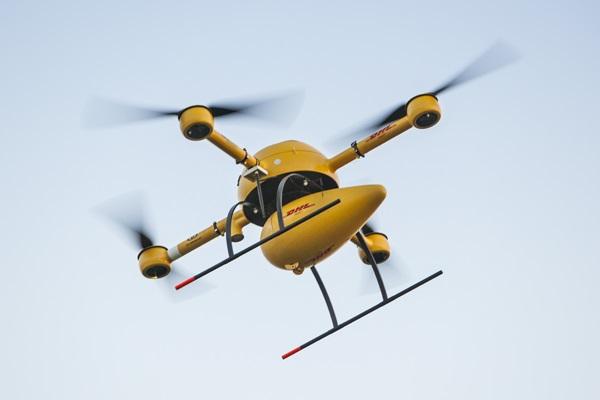 Deutsche Post DHL taking part in drone tests